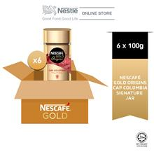 NESCAFE Gold Origins Colombia 100g x 6 Jar (Carton)