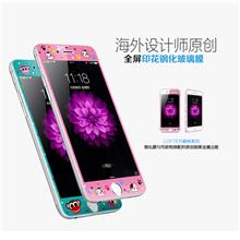 LOFTER iPhone 6 / Plus Cartoon Tempered Glass Screen Protector