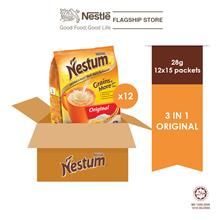 NESTLÉ NESTUM Grains  & More 3 in1 Original 15 x 28g -24 Packs (Carton)