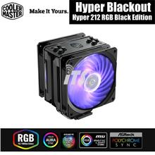 Cooler Master Hyper 212 RGB Black Edition CPU Cooler Fan