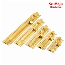 MAJU Brass Bolt Gold Tone Security Safety House Room Door