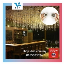 4Meter LED Curtain Icicle String Light Decor Garland Hotel Backdrop