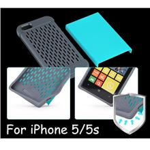 ROCK iPhone 5 5S SE Shield Series Cover Leather Case Screen Protector