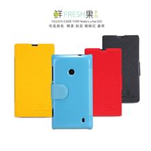 Nokia Lumia 525 520 Flip Case Cover + 2pcs Free SP & Gifts