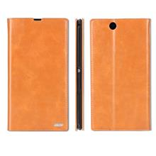 Cow Leather Sony Xperia Z Ultra XL39H Z1 L39H Flip Case Cover