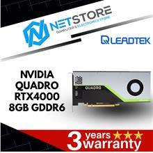 LEADTEK NVIDIA QUADRO RTX4000 8GB GDDR6 GRAPHIC CARD