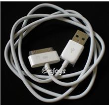 100% ORIGINAL USB Data 30-Pin Cable Apple iPhone 3G 3GS 4 4S iPad 2 3