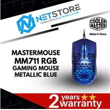 COOLER MASTER MASTERMOUSE MM711 RGB GAMING MOUSE (METALLIC BLUE)