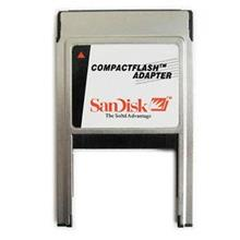 SanDisk CF card reader into PCMCIA card adaptor