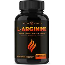Premium L Arginine 1500mg Nitric Oxide Supplement - Extra Strength for Energy,