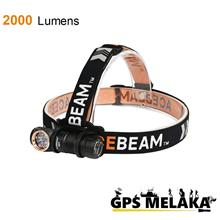 Acebeam H17 Lightweight Small Powerful 2000 Lumens Headlamp/Headlamp
