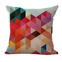 18 * 18 inches / 45 * 45cm Polyester Geometric Pattern Cushion Cover Decorativ