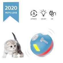 Smart Interactive Cat Toy Ball USB Rechargeable Rolling Ball for Kitty Puppy 3