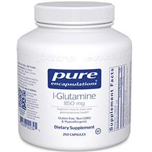 Pure Encapsulations l-Glutamine 850 mg | Supplement for Immune and Digestive S