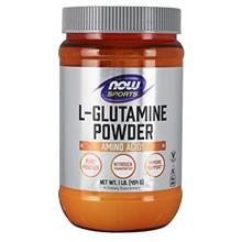 NOW Sports Nutrition, L-Glutamine Pure Powder, Nitrogen Transporter*, Amino Ac