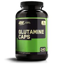 Optimum Nutrition L-Glutamine Muscle Recovery Capsules, 1000mg, 240 Count (Pac