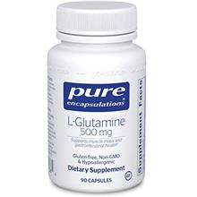 Pure Encapsulations l-Glutamine 500 mg | Supplement for Immune and Digestive S
