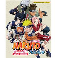Naruto Shippuden Episode 1-220End Japanese Anime DVD Box Set