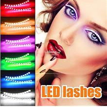 Hot Multi 7 Color,LED Lash Tape Flash Light,Interactive Sound Change
