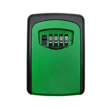 Wall Mounted Outdoor Key Storage Lock Box 4-Digit Combination Password