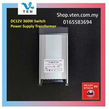 360W 30A Rainproof 240V To DC12V LED Power Supply LED Transformer