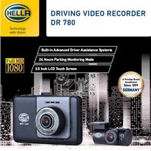 Hella DVR DR780 Video Recorder GPS WiFi FHD Front & Rear 2-Channel