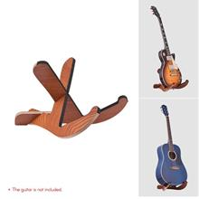 Floor Type Wooden Guitar Stand Holder Bracket Portable Removable Frame