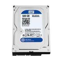WD Blue 500GB Desktop Hard Disk Drive - 7200 RPM SATA 6 Gb/s 16MB Cache 3.5 In