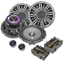 "Mohawk Crystal 6.5"" 2-Way Component Speaker System MC6.2"