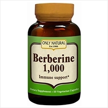 Wholesale Only Natural Berberine - 1000 Mg - 50 Vegetarian Capsules, [Health S