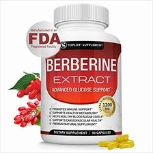 Berberine Extract 1200 mg HCl Complex - Premium Strength Berberine Plus to Sup