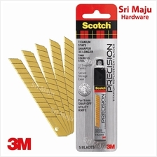 MAJU 3M Scotch TI-RS 9mm Precision Titanium Refill Replacement Blade 5