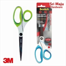MAJU 3M Scotch 1458TU Precision Ultra Edge 8 Inch Scissor