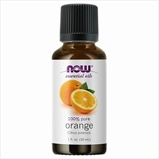 Now Essential Oils, Orange Oil, Uplifting Aromatherapy Scent, Cold Pressed, 10