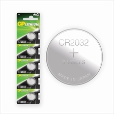 [Made In Japan] GP CR2032 Lithium Coin Battery (5pcs)