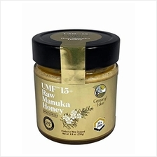 Raw Manuka Honey UMF 15+, MGO 515+, 100% Natural, Unpasteurized, Glass Jar, 8.