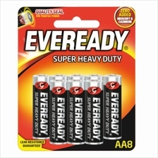 EVEREADY AA Battery Super Heavy Duty(8pcs)EVEREADY Malaysia