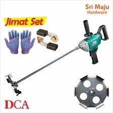 MAJU DCA AQU 160B Electric Mixer for Cement Paint Compound Mixing