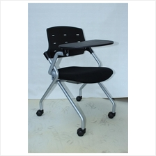 Office Training Student Chair with Foldable Table