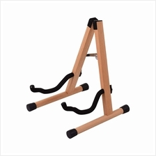 Portable Wood Guitar Stand Solid Wood Folding A-shaped Guitar Stand