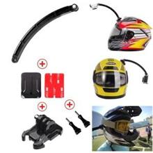 Helmet Extension Arm with Curved Adhesive for GoPro/Action Camera
