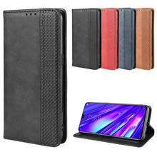 Realme 5 5S full leather wallet card slot magnet case casing cover