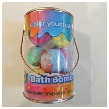 Crayola Bath Bombs Scented 8 Bath Bombs (Only bottle is concave)