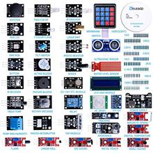 [USAmall]ELEGOO Upgraded 37 in 1 Sensor Modules Kit with Tutorial Compatible w