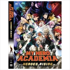 My Hero Academia Movie : Heroes Rising Japanese Anime DVD