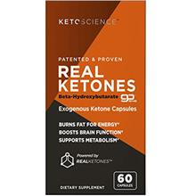 Keto Science Real Ketones Caps Dietary Supplement, Supports Carb-Fighting Diet