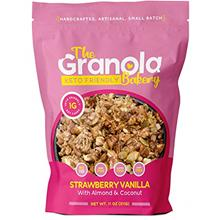The Granola Bakery Keto Granola | Low Carb Keto Cereal | 1g Net Carb | Low Sug