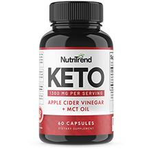 Keto Pills with Apple Cider Vinegar  & MCT Oil, BHB Weight Loss Supplement, De