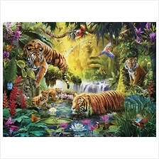 Ravensburger 16005 Tranquil Tigers 1500 Piece Puzzle for Adults - Every Piece