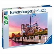 Ravensburger Picturesque Notre Dame 1500 Piece Jigsaw Puzzle for Adults - Ever